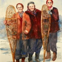 Snowshoers - SOLD